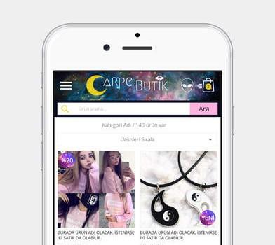 CarpeButik Ekran Görüntüleri - 2
