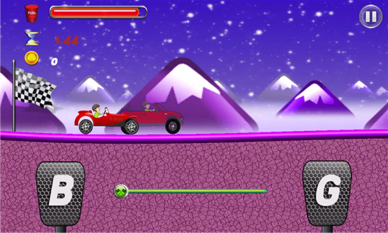 Cars Hill Climb Race Ekran Görüntüleri - 4