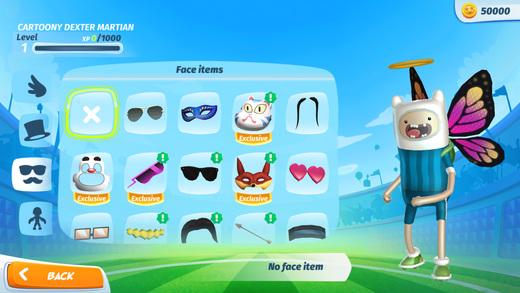 Cartoon Network Superstar Soccer Ekran Görüntüleri - 2