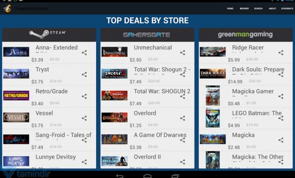 CheapShark Ekran Görüntüleri - 3