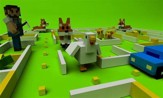 Chicken Maze Ekran Görüntüleri - 1