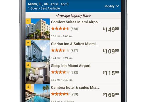 Choice Hotels Ekran Görüntüleri - 2