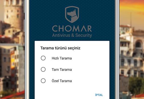 CHOMAR Antivirüs Ekran Görüntüleri - 1