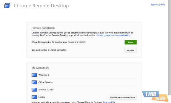 Chrome Uzaktan Masaüstü Ekran Görüntüleri - 3