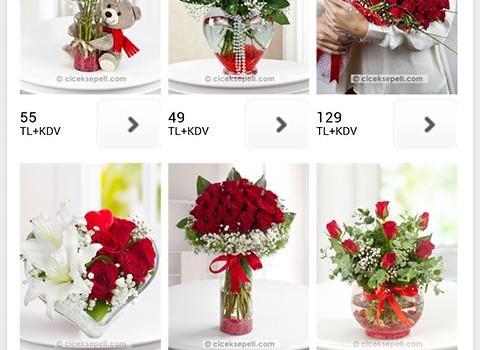 Çiçek Sepeti Ekran Görüntüleri - 2