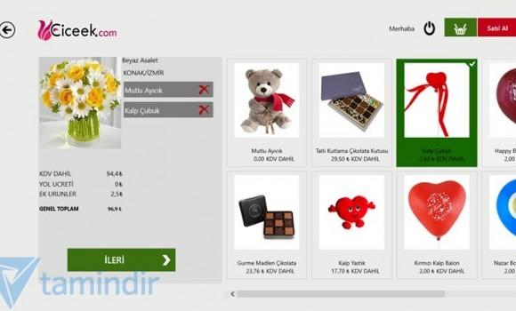 Çiçek Siparişi Ekran Görüntüleri - 1