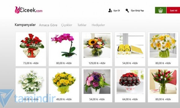 Çiçek Siparişi Ekran Görüntüleri - 3