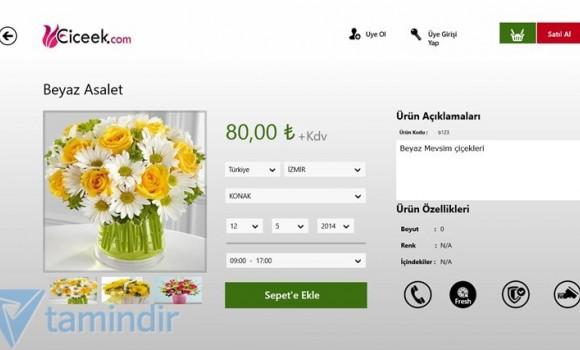 Çiçek Siparişi Ekran Görüntüleri - 2