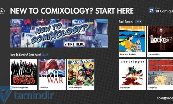 Comics Ekran Görüntüleri - 3