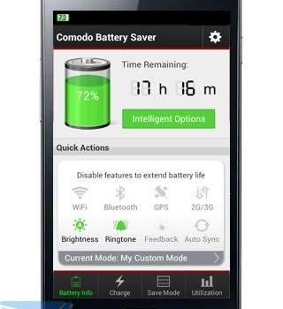 Comodo Battery Saver Ekran Görüntüleri - 2