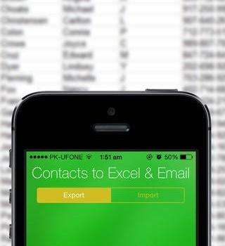 Contacts Backup -- Excel & Email Support Ekran Görüntüleri - 2