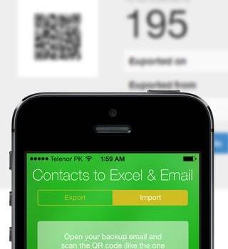 Contacts Backup -- Excel & Email Support Ekran Görüntüleri - 1