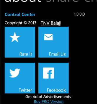 Control Center Ekran Görüntüleri - 1