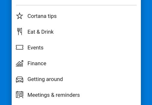 Cortana Ekran Görüntüleri - 2