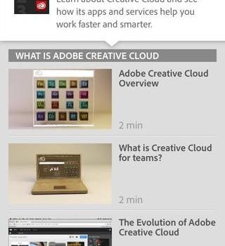 Creative Cloud Tutorials Ekran Görüntüleri - 2
