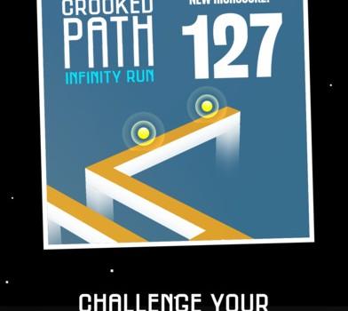 Crooked Path: Infinity Run Ekran Görüntüleri - 1