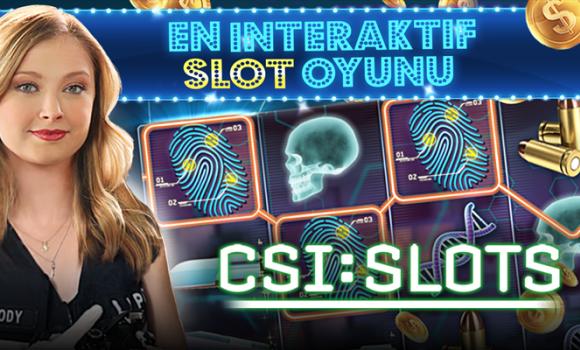 CSI: Slots Ekran Görüntüleri - 5