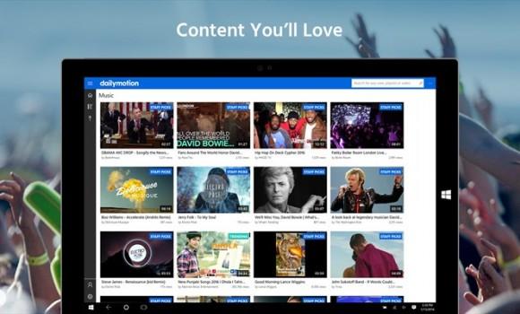 Dailymotion Ekran Görüntüleri - 1