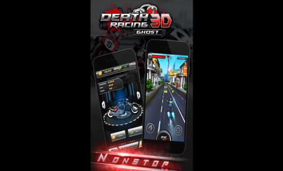 Death Moto 3D Ekran Görüntüleri - 3