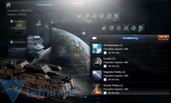 Deep Space Fleet Ekran Görüntüleri - 1