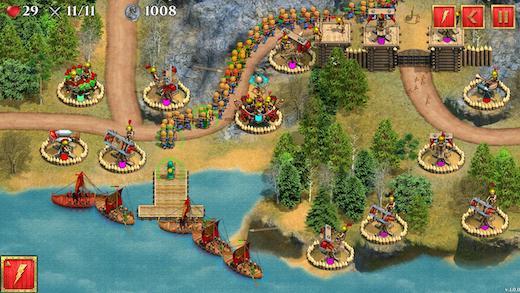 Defense of Roman Britain TD Ekran Görüntüleri - 5