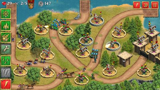 Defense of Roman Britain TD Ekran Görüntüleri - 2