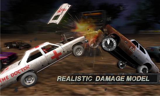 Demolition Derby: Crash Racing Ekran Görüntüleri - 4