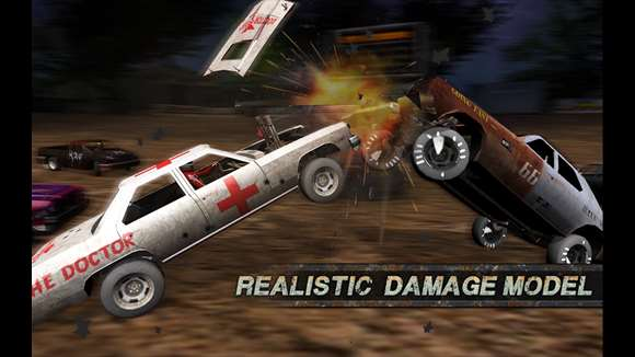 Demolition Derby: Crash Racing Ekran Görüntüleri - 5