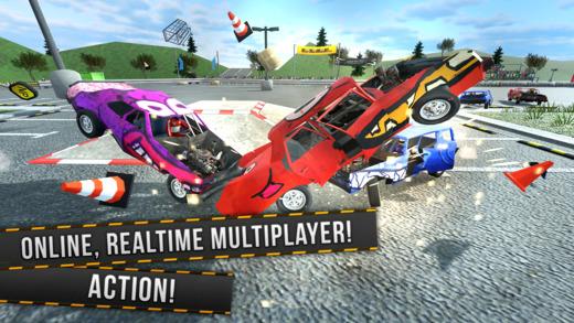 Demolition Derby Multiplayer Ekran Görüntüleri - 5