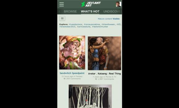 DeviantArt Ekran Görüntüleri - 3