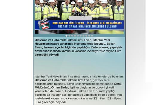 DHMİ Genel Müdürlüğü Ekran Görüntüleri - 2