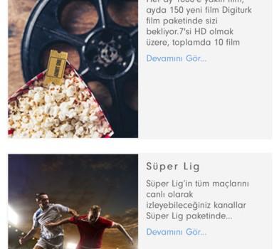Digiturk Online İşlemler Ekran Görüntüleri - 3