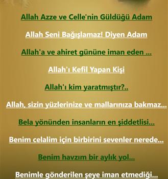 Dini Bilgiler Ekran Görüntüleri - 1