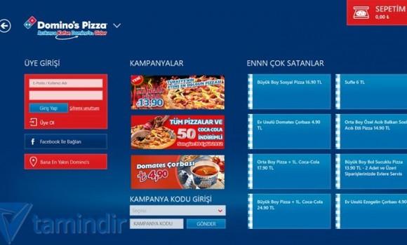 Domino's Pizza Türkiye Ekran Görüntüleri - 3