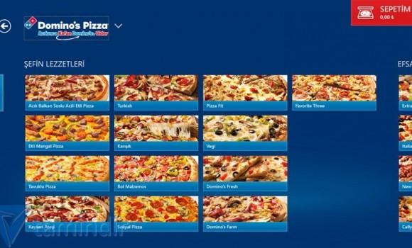 Domino's Pizza Türkiye Ekran Görüntüleri - 2
