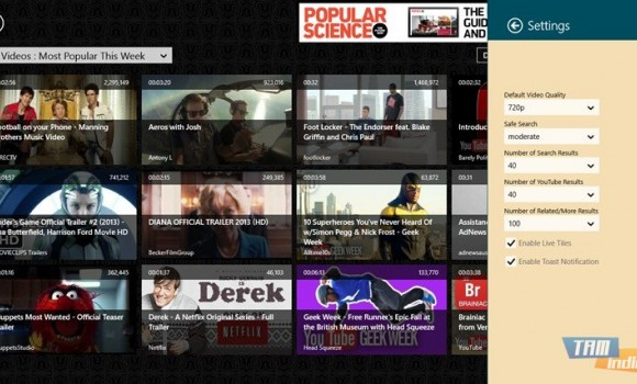 DownTube Ekran Görüntüleri - 1