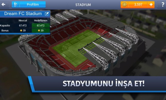 Dream League Soccer 2017 Ekran Görüntüleri - 1