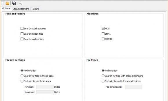 Duplicate File Eraser Ekran Görüntüleri - 1