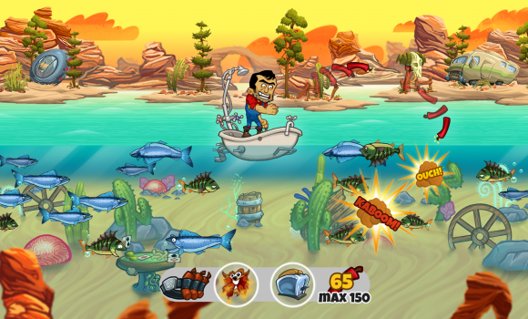 Dynamite Fishing World Games Ekran Görüntüleri - 1