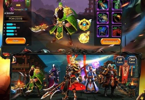 Dynasty Dragons: Warriors SRPG Ekran Görüntüleri - 3