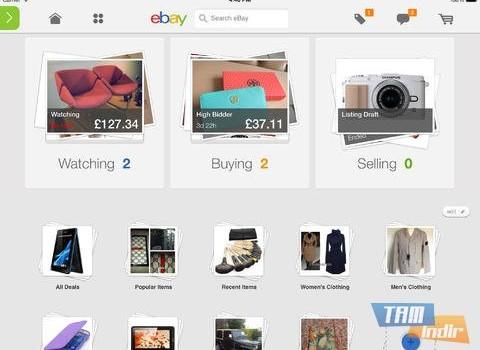 eBay for iPad Ekran Görüntüleri - 3