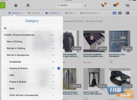 eBay for iPad Ekran Görüntüleri - 2