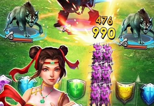 Empires & Puzzles: RPG Quest Ekran Görüntüleri - 3