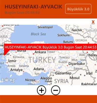 En Son Depremler Ekran Görüntüleri - 2