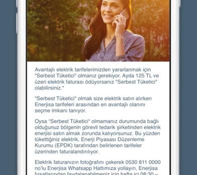 Enerjisa Mobil Ekran Görüntüleri - 5