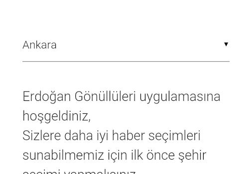 Erdoğan Gönüllüleri Ekran Görüntüleri - 1