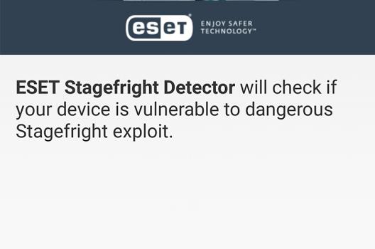 ESET Stagefright Detector Ekran Görüntüleri - 3