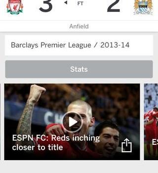 ESPN FC Football & World Cup Ekran Görüntüleri - 2