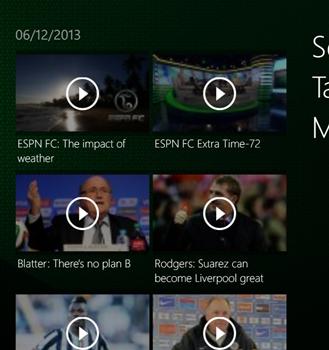 ESPNFC Ekran Görüntüleri - 1