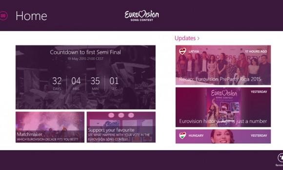 Eurovision Song Contest Ekran Görüntüleri - 4
